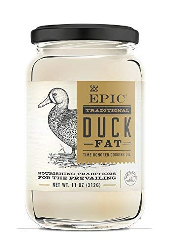 Epic Animal Oil, Duck Fat, 11 Ounce - From Cage Free Duck | Pack of 12 by Epic Animal (Image #1)