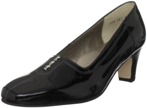 Padders Vesta 5875, Damen Pumps, Schwarz (Black Patent), 36 EU / 3 UK