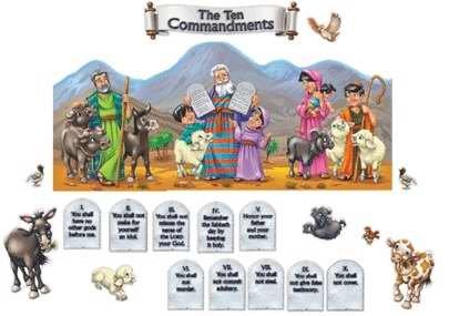 CD-210003 - THE TEN COMMANDMENTS BB SET