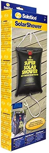 2 NEW 5 Gallon Super Solar Sun Backpacking Camping Outdoor Showers Heats Water