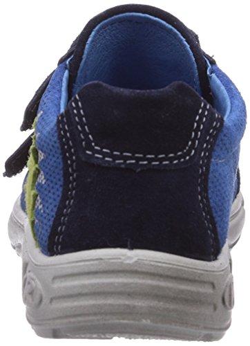 Ricosta Gantar - zapatilla deportiva de piel niño azul - Blau (nautic 160)