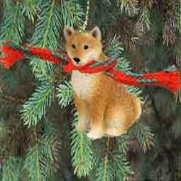 Amazon.com: 1 X Shiba Inu Miniature Dog Ornament: Home & Kitchen