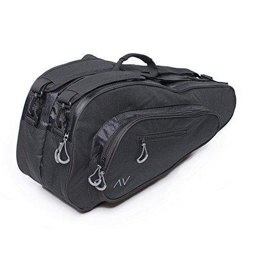 Premium 6R Tennis Bag in Black – DiZiSports Store