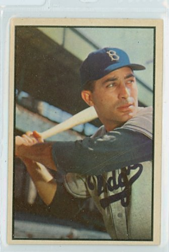 1953 Bowman Color Baseball 78 Carl Furillo Near-Mint (7 out of 10) by Mickeys Cards (1953 Bowman Color Baseball)