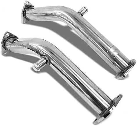 Manzo Stainless Steel Exhaust Performance Pipe for 03-06 350Z//G35 VQ35DE RWD