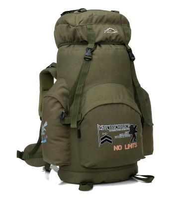 Tenda da campeggio sport outdoor alpinismo 70L borsa a tracolla uomini e donne zaino da viaggio borsa Student bagagli pacchetto