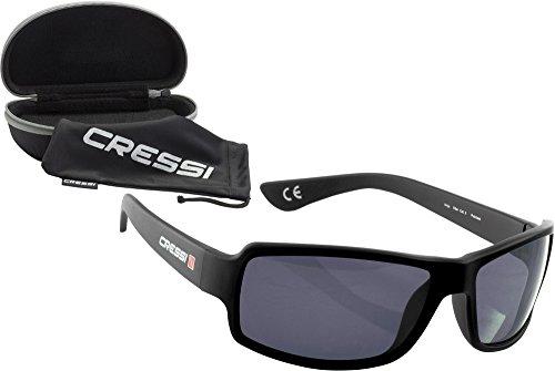 Cressi Ninja Floating - Gafas de sol polarizadas y flotantes para hombre, color negro
