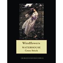 Windflowers: Waterhouse cross stitch pattern