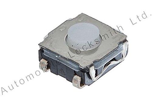 micro-interrupteur Tactile avec 4 pieds 2 X 6,5 X 6,5 mm pour té lé commande clé s de voitures VW, AUDI, MERCEDES NISSAN, RENAULT et PEUGEOT 5 mm pour télécommande clés de voitures VW AML