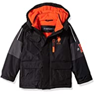 [Sponsored]U.S. Polo Assn. Boys' Stadium Parka Outerwear Jacket