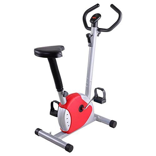 Chimaera Stationary Bike Upright Cycle Indoor Fitness - Red