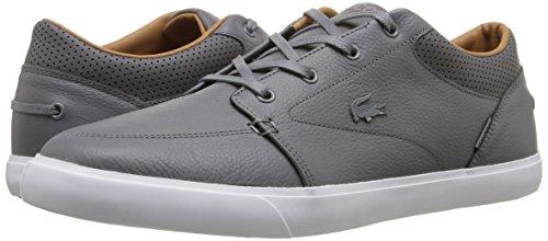 Lacoste Men's Bayliss Vulc PRM Us SPM Fashion Sneaker Fashion Sneaker, Grey, 10 M US