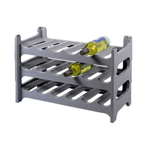 Gies Flaschenregal Kunststoff Stapelbar Für 18 Flaschen Farbe