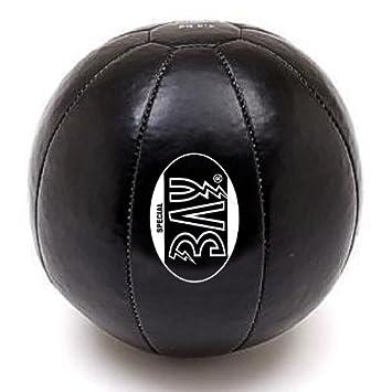 Bay® 5 kilos Delux - Balón medicinal de piel, de piel auténtica ...