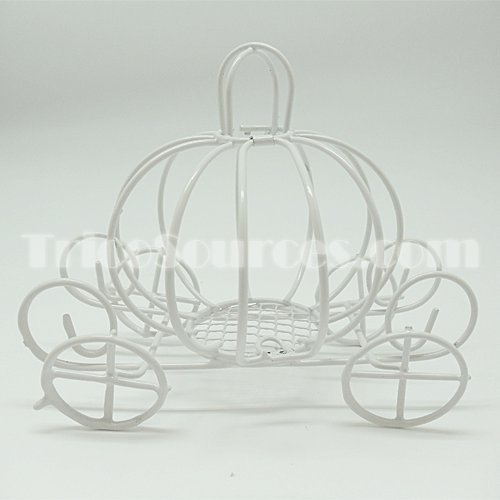 wire baby carriage centerpiece - 2