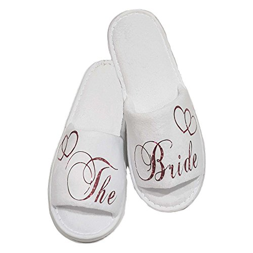 Lin.m , Chaussons Pour Femme Bride To Be