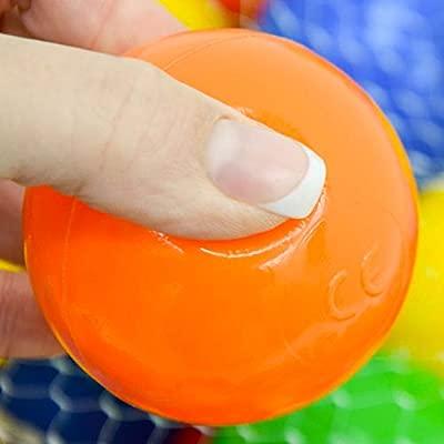 LittleTom 500 Bolas de Colores Ø 6cm Extra Durable para Piscina ...