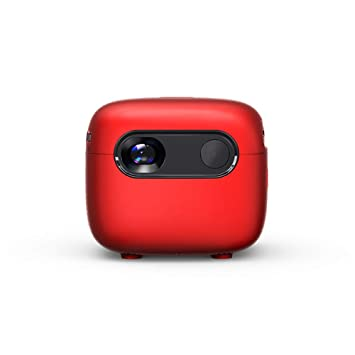 XUNMAIFPT Full HD Proyector, Mini proyector portátil teléfono ...