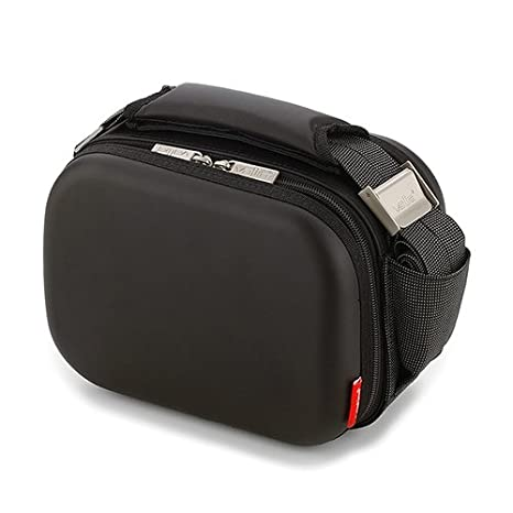 Valira 6160/155 Satin Black Bag Mini Lunch Box,