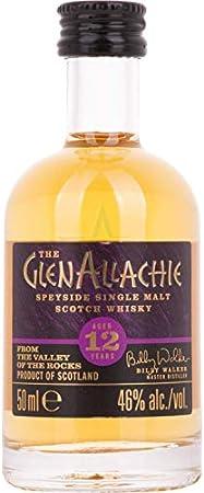 The GlenAllachie The GlenAllachie 12 Years Old Speyside Single Malt Scotch Whisky 46% Vol. 0,05l - 50 ml