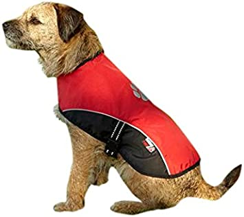Outdoor Paws by Petface Dog Coat, Medium, Red