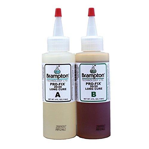 Brampton PRO-FIX Epoxy 20/20 Long Cure 8 ounces (Golf Club Repair Bonding Adhesive Kit) Golf Club Components
