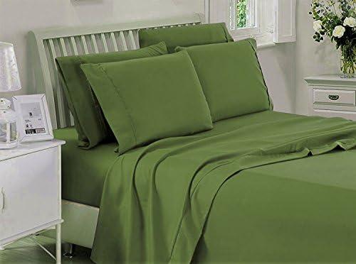 Amuze Bedding Juego de sábanas de algodón Egipcio de 400 Hilos ...