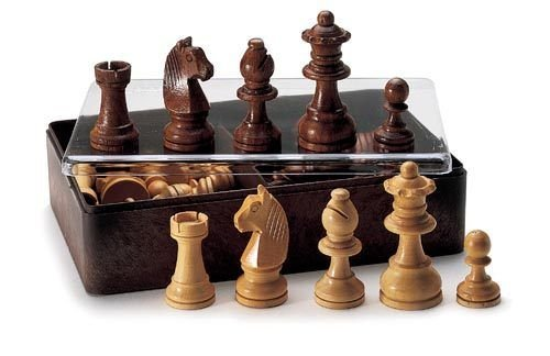 Scacchi in legno pregiato-misurano cm 3 4,5 e 6-didatto giochi