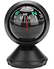 Sea Marine Compass, Boat Vehicle Compass Navigation Direction Pointing Mini Guide Ball Explorer Mount Compass,Suitable for Car, Truck, Boat, or Cycling, Travelling