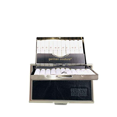 GC® German Couture ORIGINAL – Heat-CASE kompatibel mit IQOS Heets Sticks mit edlen Premium Vintage Leder – edles…