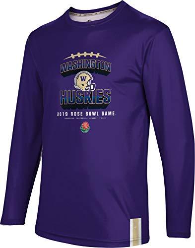 (ProSphere Rose Bowl - University of Washington Men's Long Sleeve Tee - Solid FF0E)