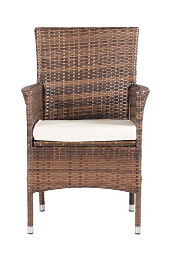 Suncrown Outdoor Furniture All Weather Wicker Dining Table