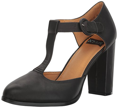 Black Retro Pumps (N.Y.L.A. Women's Olybillie Dress Pump, Black, 9 M US)