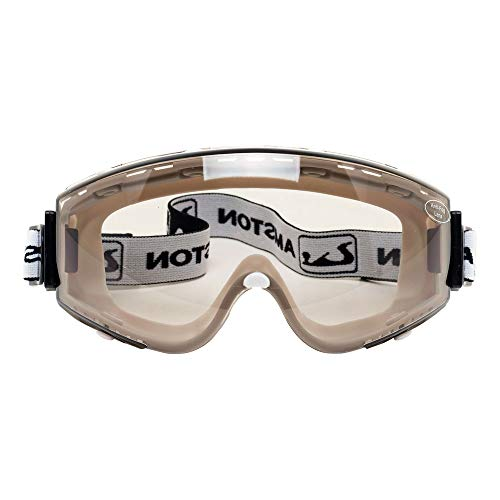 Amston Safety Goggles - ANSI Z87.1 & OSHA Compliant - Protective Eyewear for Construction, DIY, Lab & Home - 20 Pack, Tinted