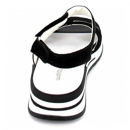 Waldläufer Sling Sandalette Halisha, Farbe: schwarz
