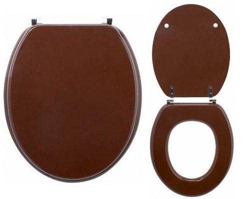 Abattant - Lunette Wc Colors Line Chocolat: Amazon.Fr: Cuisine