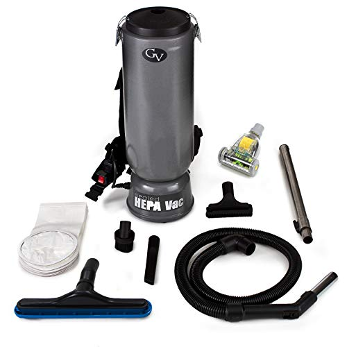 (10qt Commercial Backpack Vacuum with Warranty)