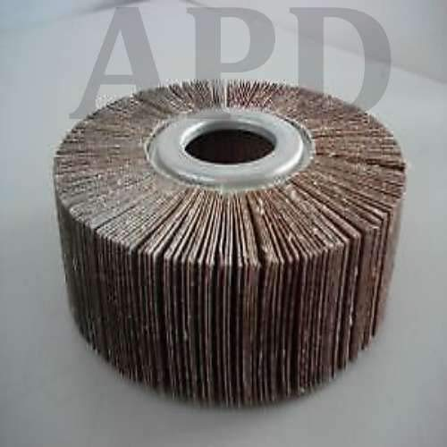 5-Pk Kelco Flap Wheel A/O 8 Inch X 1 Inch X 1 Inch 40 Grit by APD incorporated (Image #1)