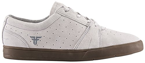 Fallen Men's Rise Skateboard Shoe, Newsprint Grey/Gum, 7.5 M US by Fallen
