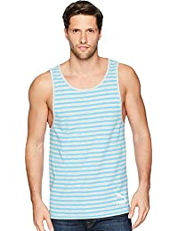 Men's Summer Breton Stripe Tank Top