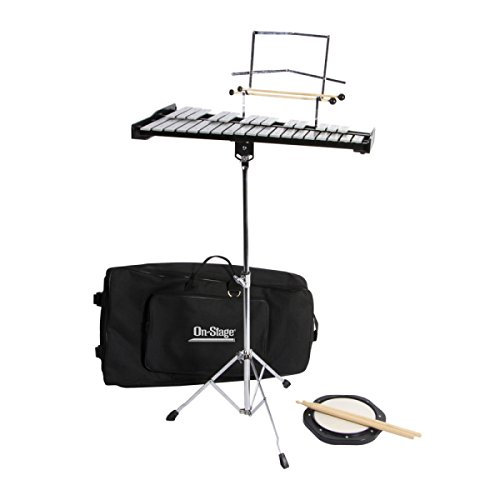 On-Stage BSK2500 2.5 Octave Bell Kit with Stand ()