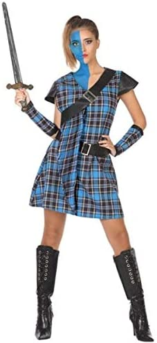 Ladies Brave Scottish Warrior Costume