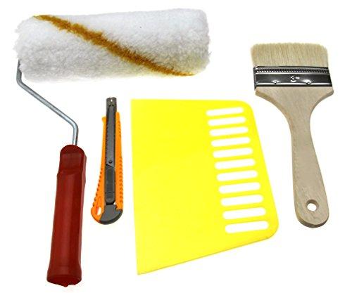 Paperhanging Brush 4pcs Wallpaper Hanging Tool Kit ()