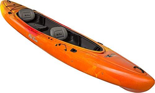 Old Town Twin Heron Kayak, Black Cherry, 13 Feet 6 Inches