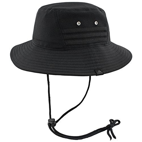adidas Mens Victory II Bucket Hat, Black/Black, One (Adidas Outdoor Hat)