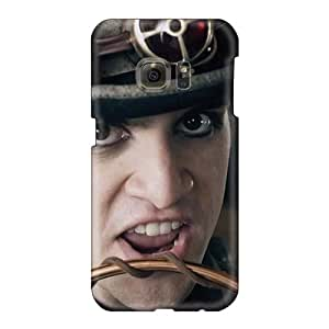 Best Cell-phone Hard Covers For Samsung Galaxy S6 (VjR4113JMts) Customized Vivid My Chemical Romance Band Pattern