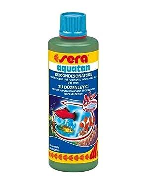 Sera aquatan - Bioacondicionador de agua para acuario, 100 ml ...