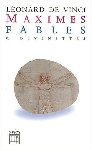 Lire Maximes, fables et devinettes pdf