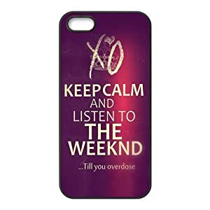 DIY Hard Snap-on Backcover Case for Iphone 5,5s- The Weeknd XO