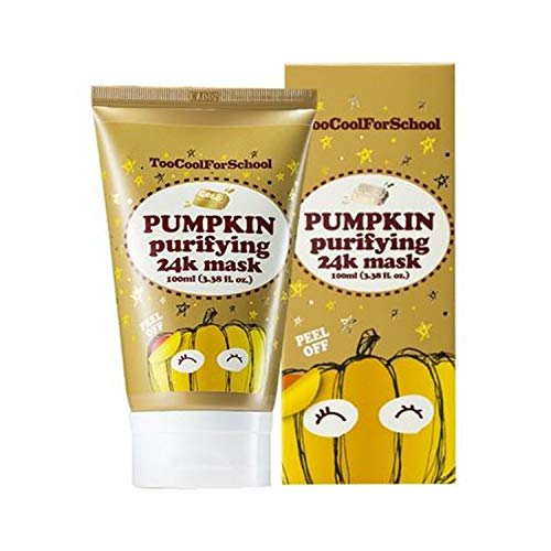 Too Cool for School, Pumpkin Purifying 24K Mask, 3.38 fl oz 100 ml